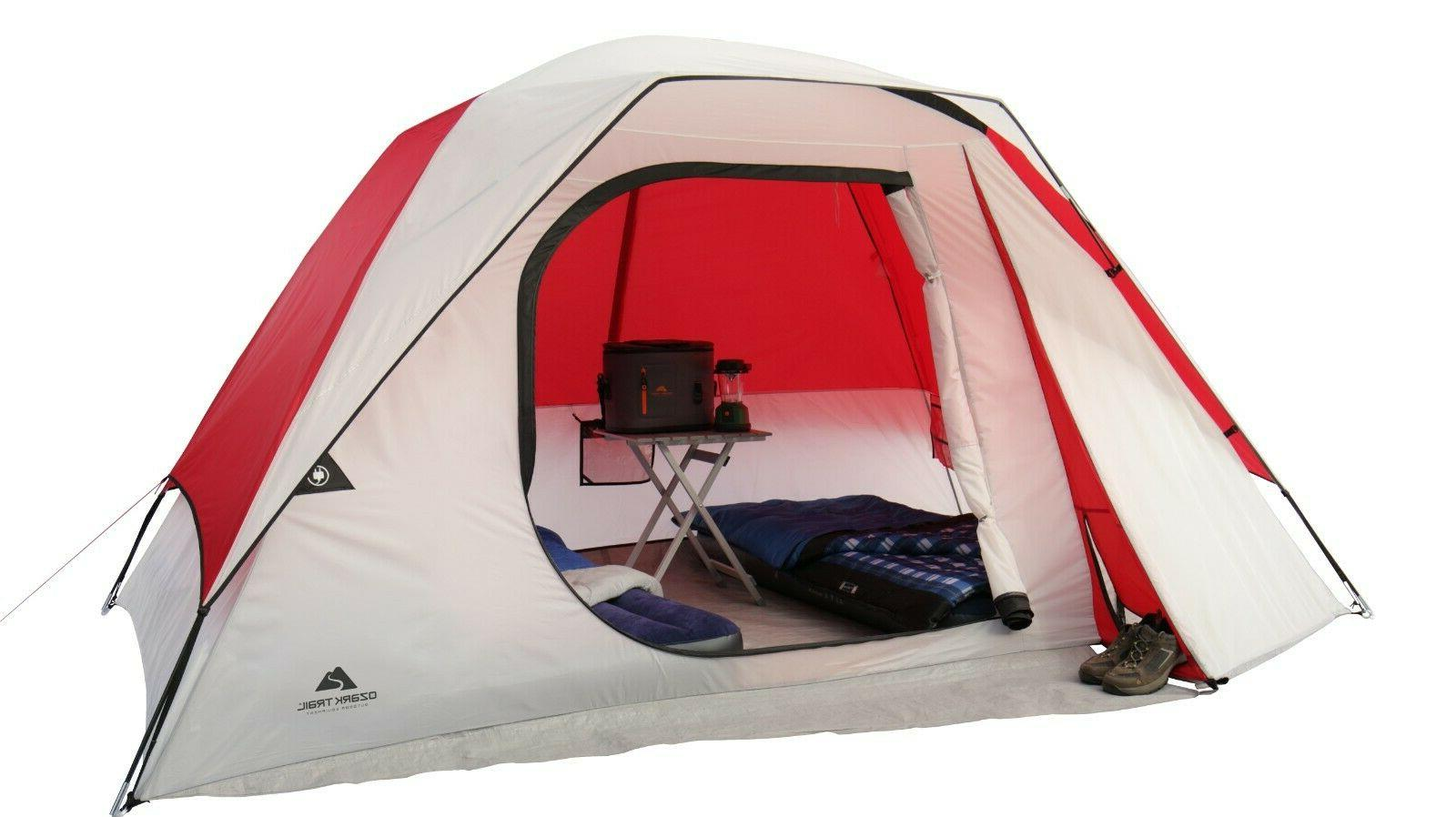 dome camping tent 6 person large storage