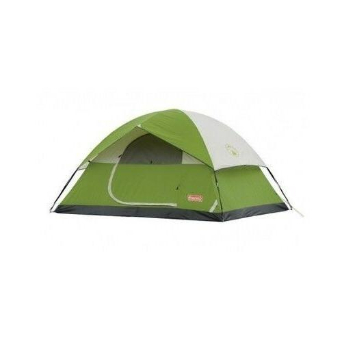 dome tent 4 person family camping sleeping