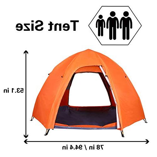 Lw Person Camping Dome Tent Instant
