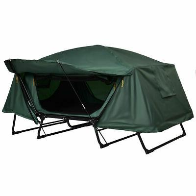 Folding Person Camping Tent Cot Hiking w Bag