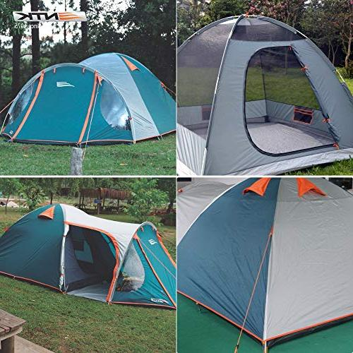 NTK INDY GT to Person by 8 Dome 100% Waterproof 2500mm, European Design,Easy Assembly, Durable Fabric Full Micro