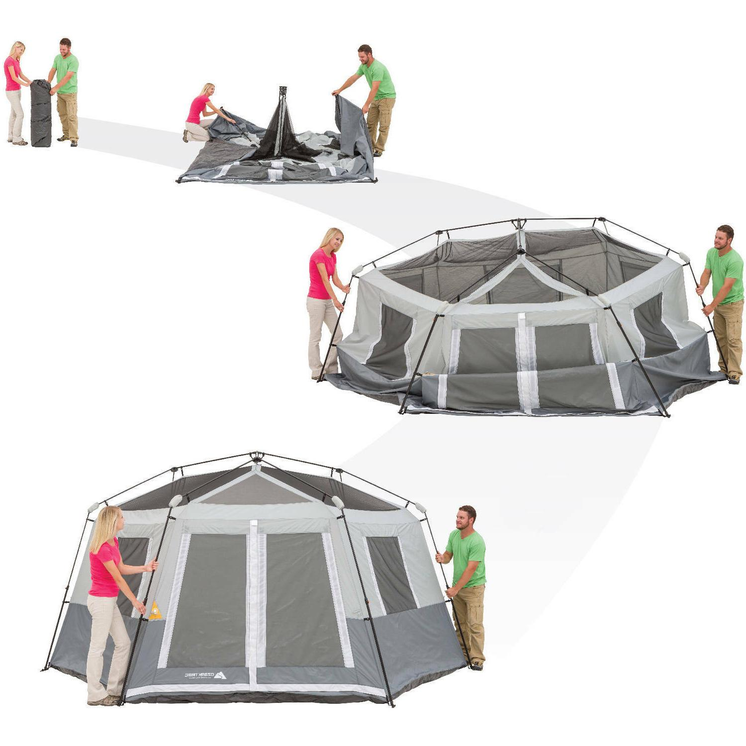 Instant Set Up 8 Person Shelter Tents