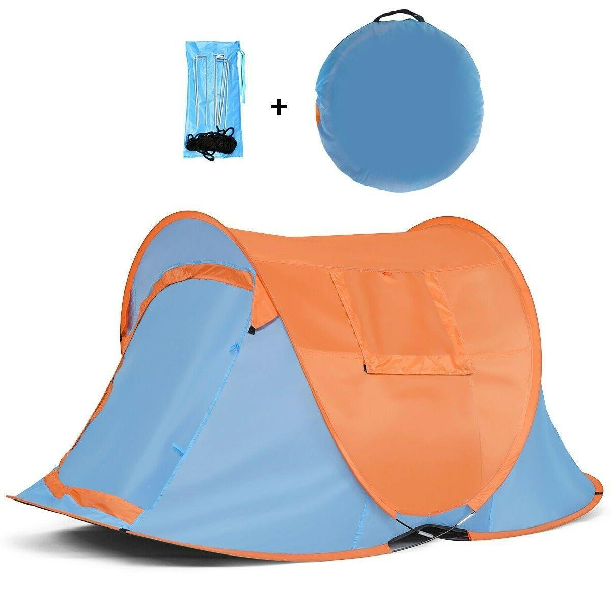 Instant Pop Up Portable Camping Person Shelter Bag