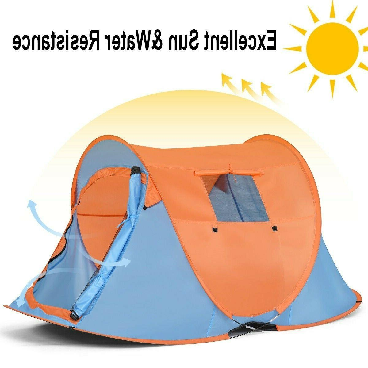 Instant Pop Up Portable Camping Person Bag