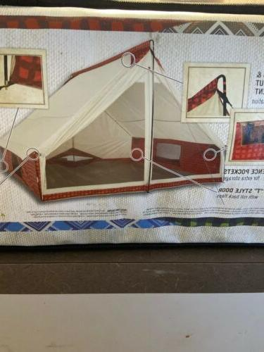 Wenzel Person Camping - Red Plaid Tribute 90 sqft. Hiking