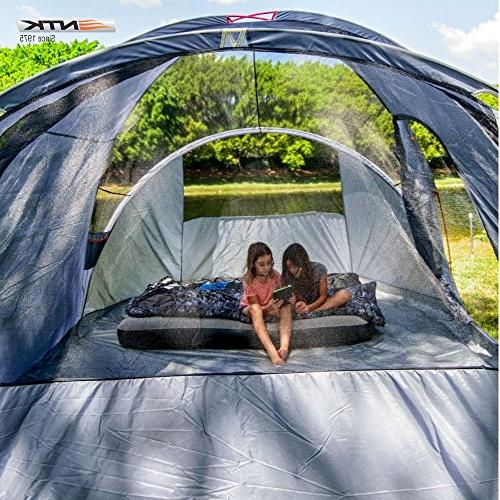NTK Laredo to 9 by Camping Tent Waterproof 2500mm
