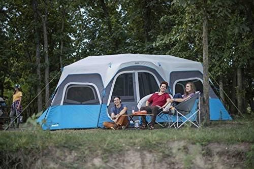 CORE Lighted Instant Cabin Tent 18' 10'