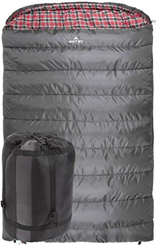 TETON Mammoth Size Flannel Lined Sleeping Bag