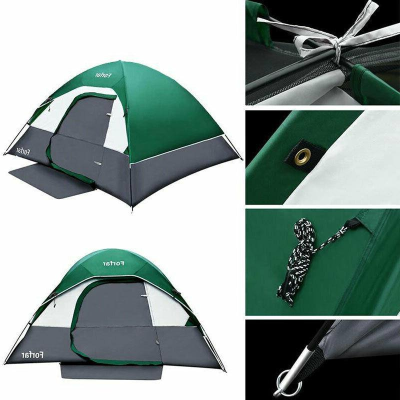 3-4 Person Outdoor Hiking Waterproof Family Tent