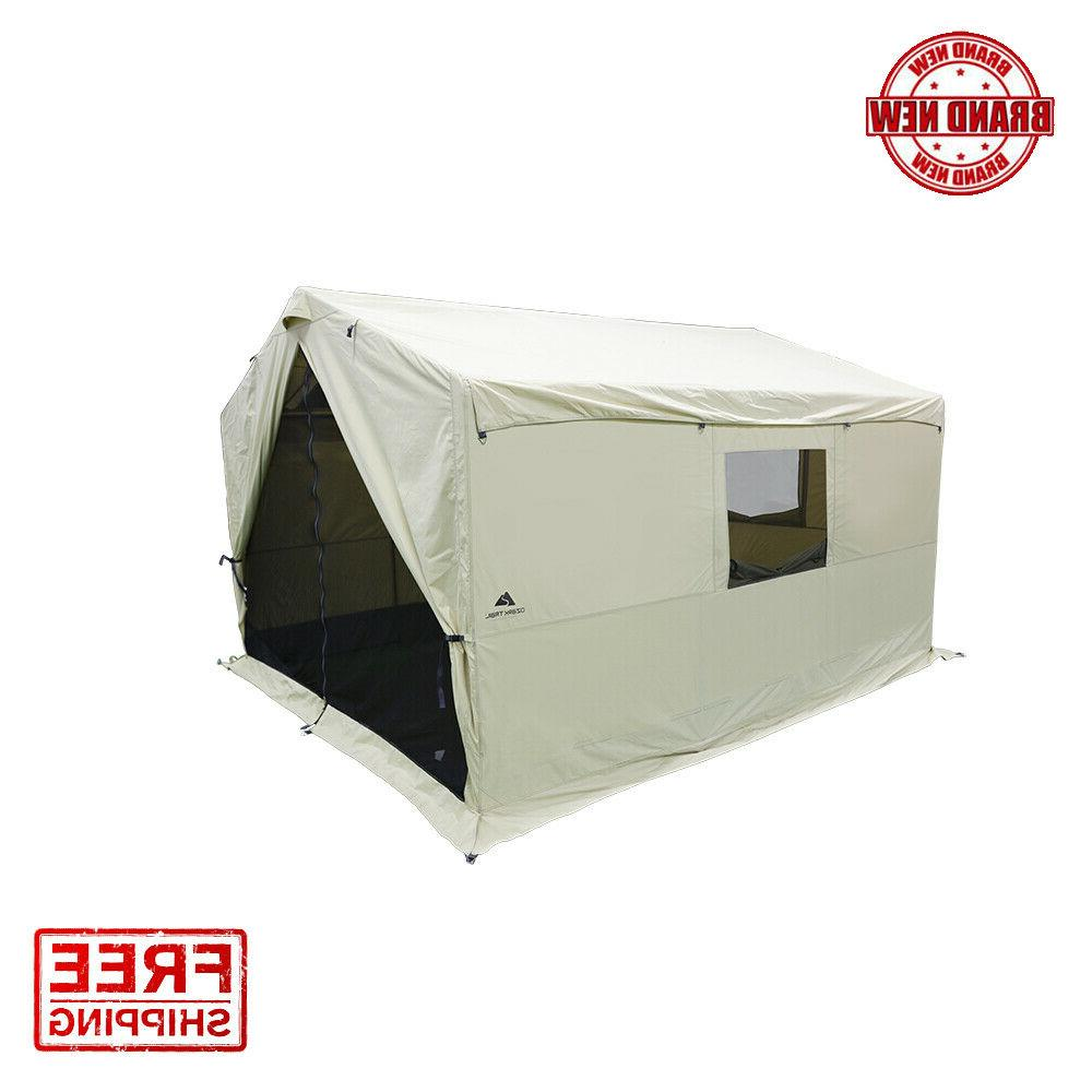 Ozark Trail North Fork 12' x 10' Wall Outfitter Tent with St