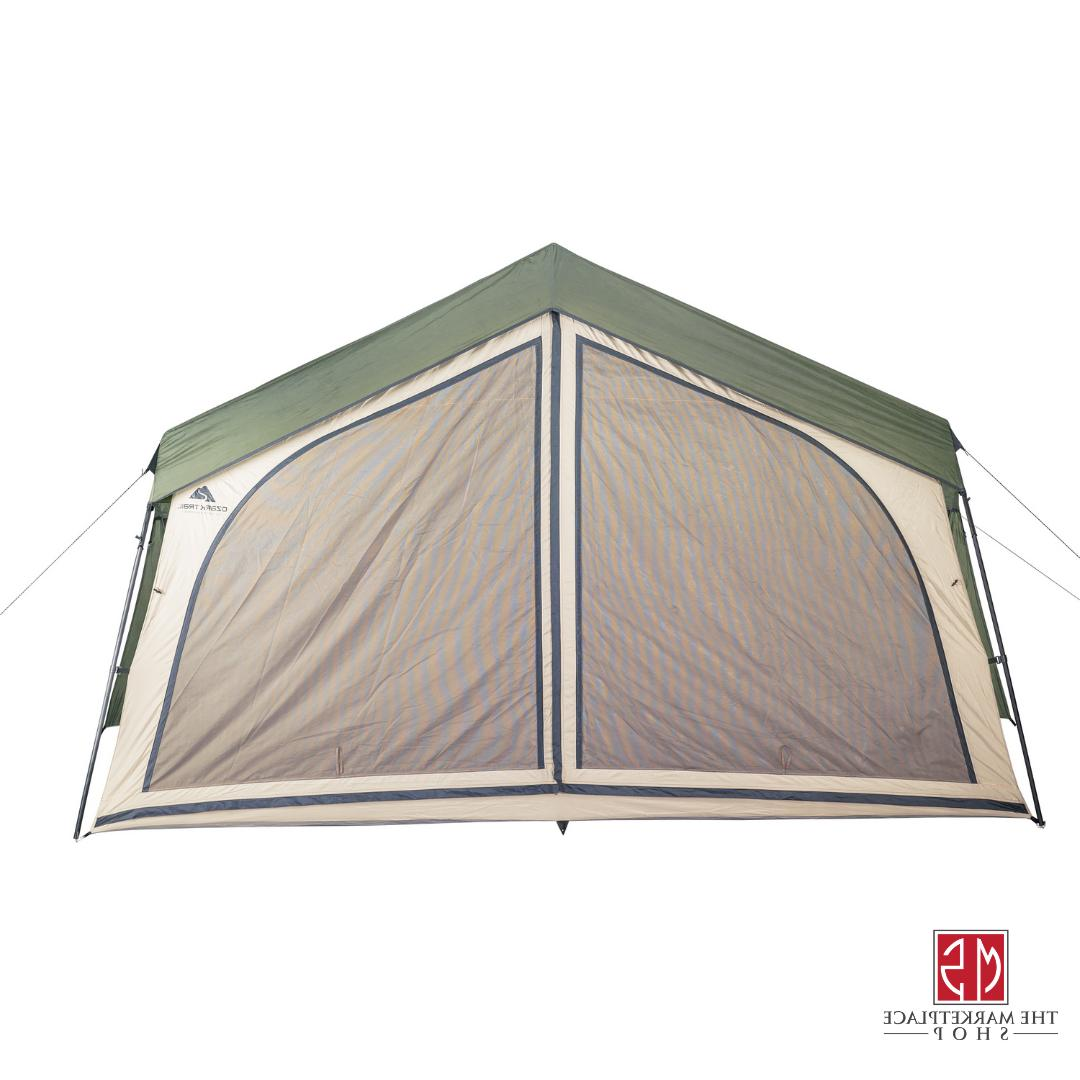 Outdoor Camping Person Large Family Lodge Screen
