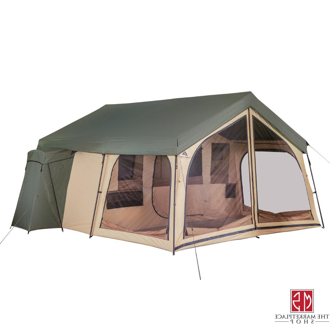 Outdoor 14 Person Large 2 Room