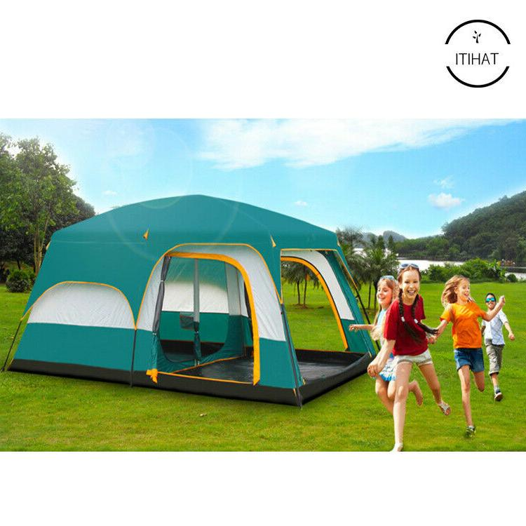 Outdoor 8-12 Camping Two Bedroom Quality