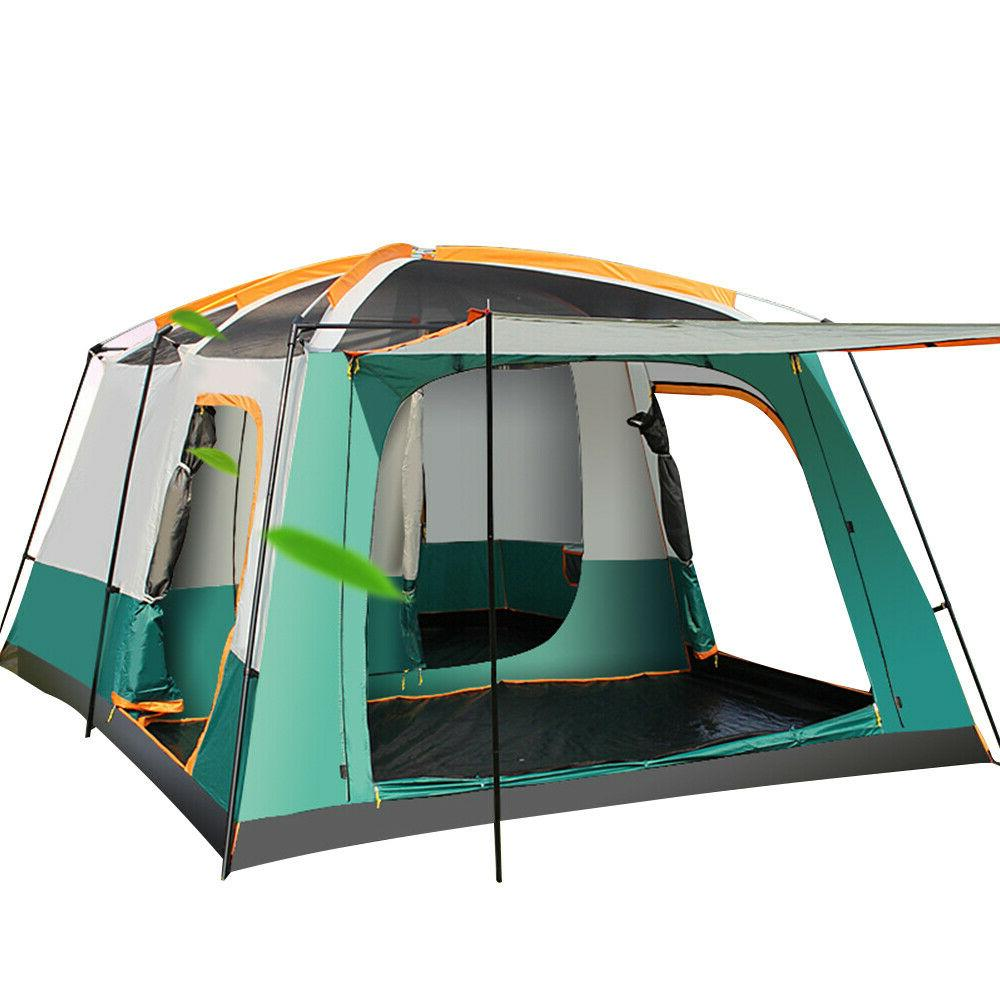 Outdoor 8-12 People Camping Tents Bedroom Big Space Quality