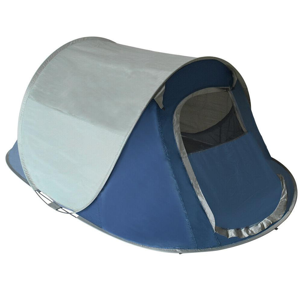 pop up camping tent automatic family camping