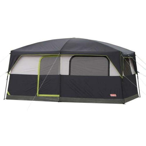 prairie breeze lighted cabin tent 9 person