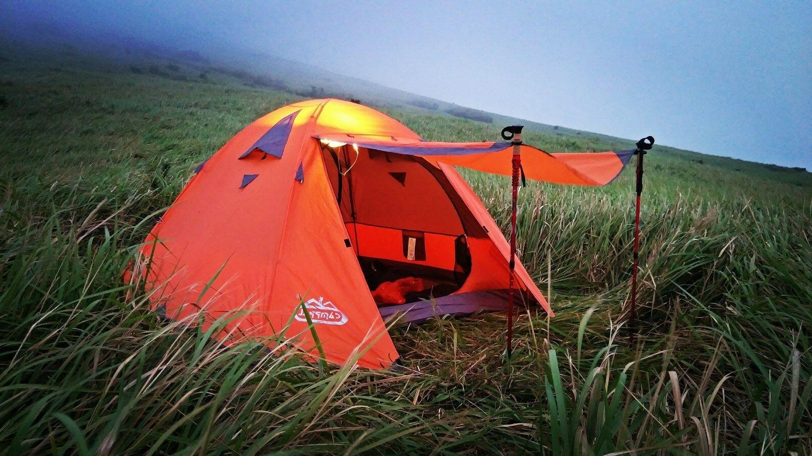 Camppal Professional High Quality Four Seasons Mountaineering Tent for 3 persons