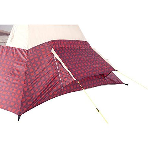 Wenzel 5 5 Person Summer Tent, Buffalo Plaid