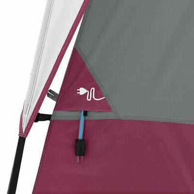 CORE Straight Wall x Person Tent 2 Red