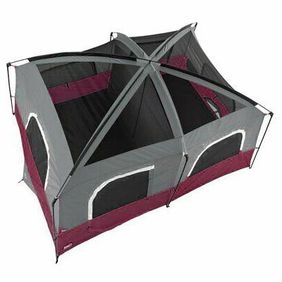 x 10 Person Large Tent, Wine