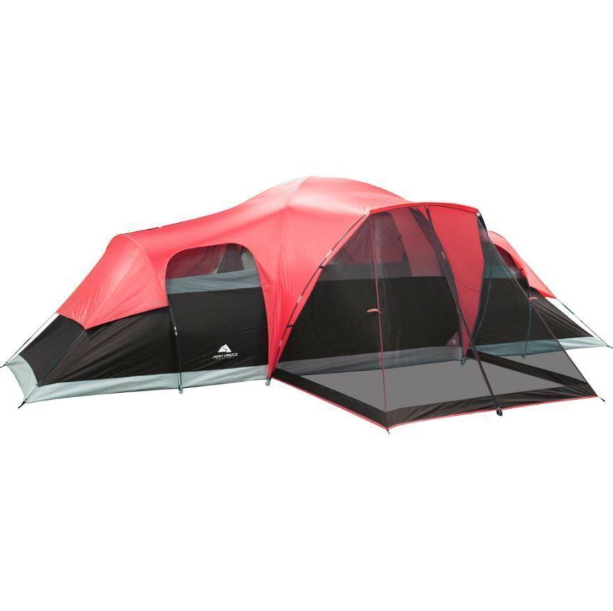 Large Tent Ozark Trail Room 10 Person Waterproof