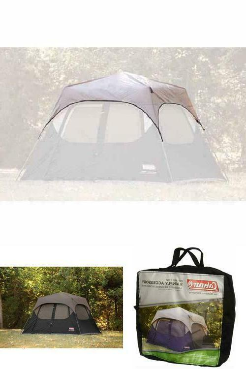 tent camping outdoor rainfly easysetup 6 person