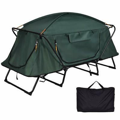 Tangkula Tent Cot Folding Waterproof 1 Person Hiking Camping