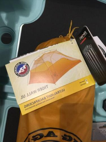 Big Agnes Tiger Wall UL Backpacking New Free Incl