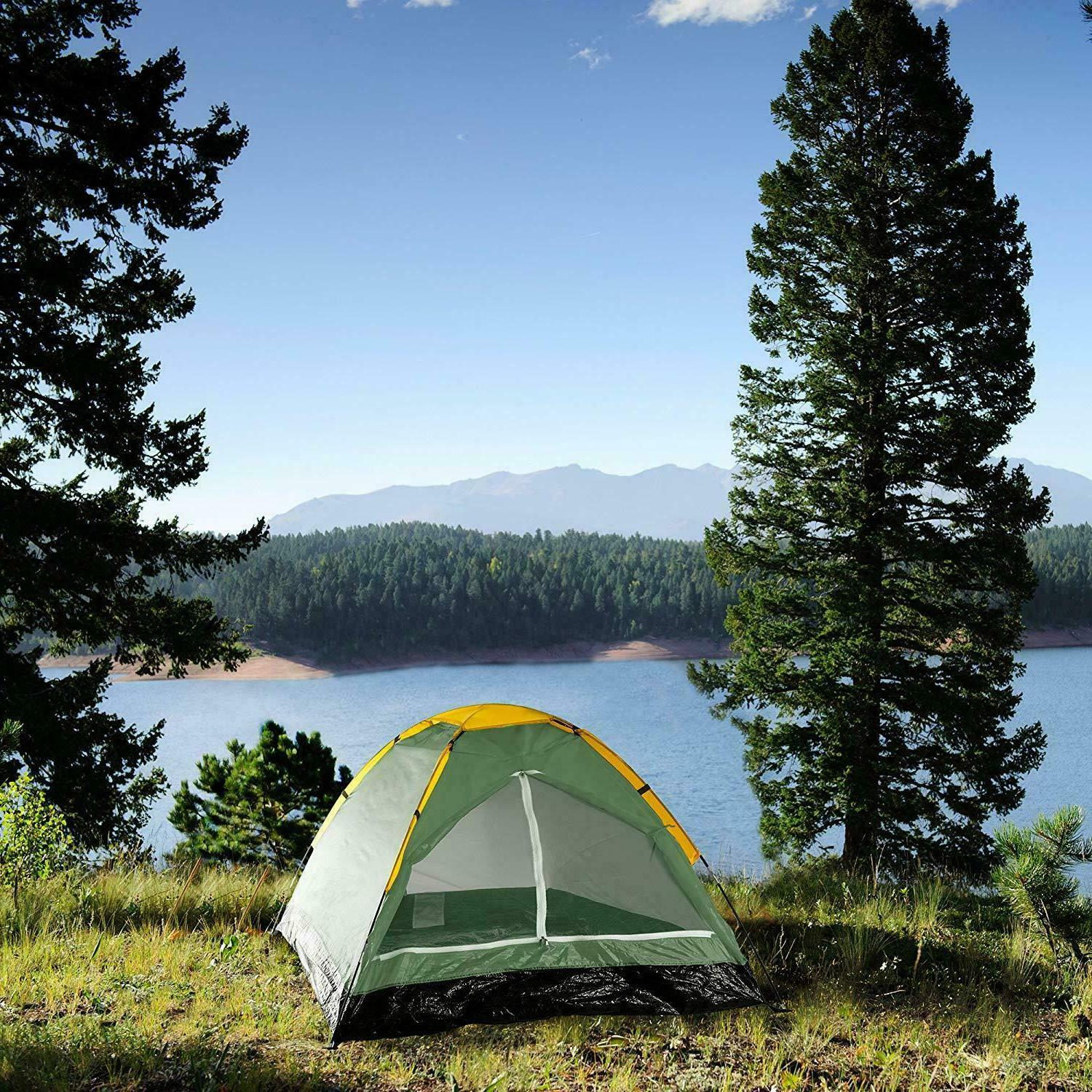 two person tent by wakeman outdoors