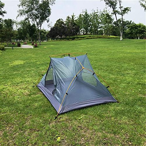 Survivalist UL Person Ultralight for Camping Expeditions Hiking Tent
