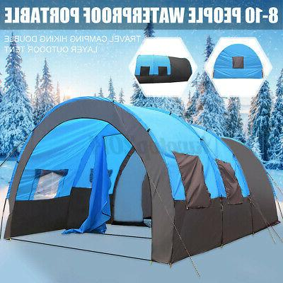 US Camping Shelter Hiking Double Layer