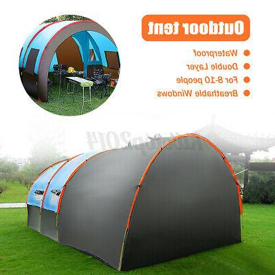 US Family Camping Tent Shelter Double