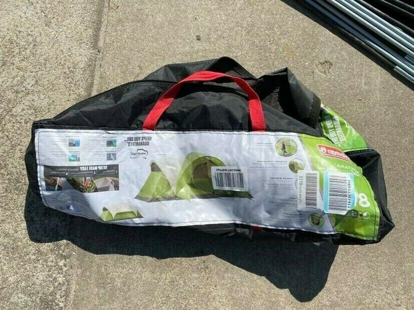 used 8 person tent for camping elite