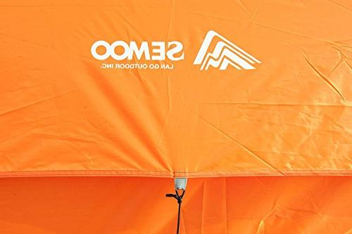 SEMOO Dome Tent Camping 2-3 Person, 1 3-Season