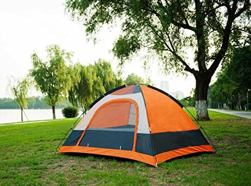 SEMOO Dome Tent 2-3 Person, Door, 3-Season