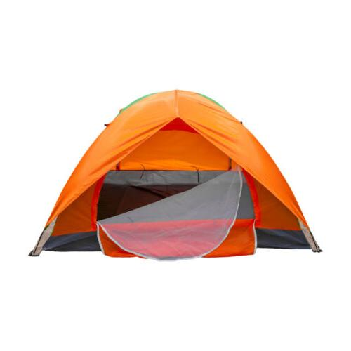 waterproof 2 person camping tent automatic folding