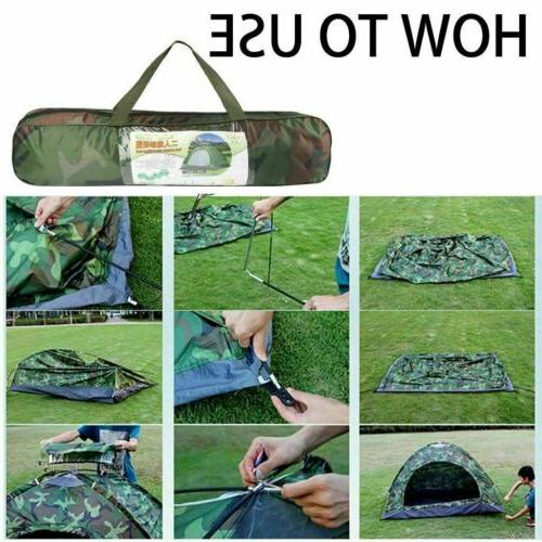 Waterproof Instant Pop Camping Tent Family