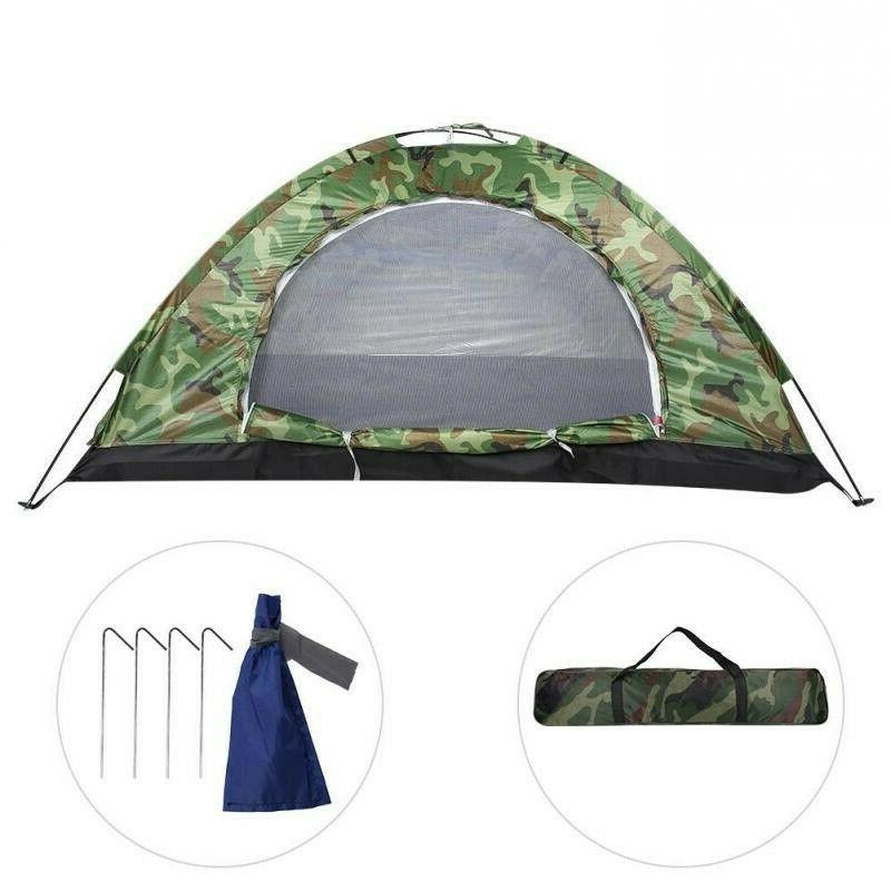 Waterproof 3-4/2/1 Instant Pop Camping Tent Family