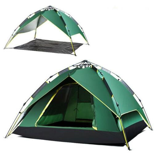 Waterproof 4 Person Instant Self Pop Automatic Family Camping Tent