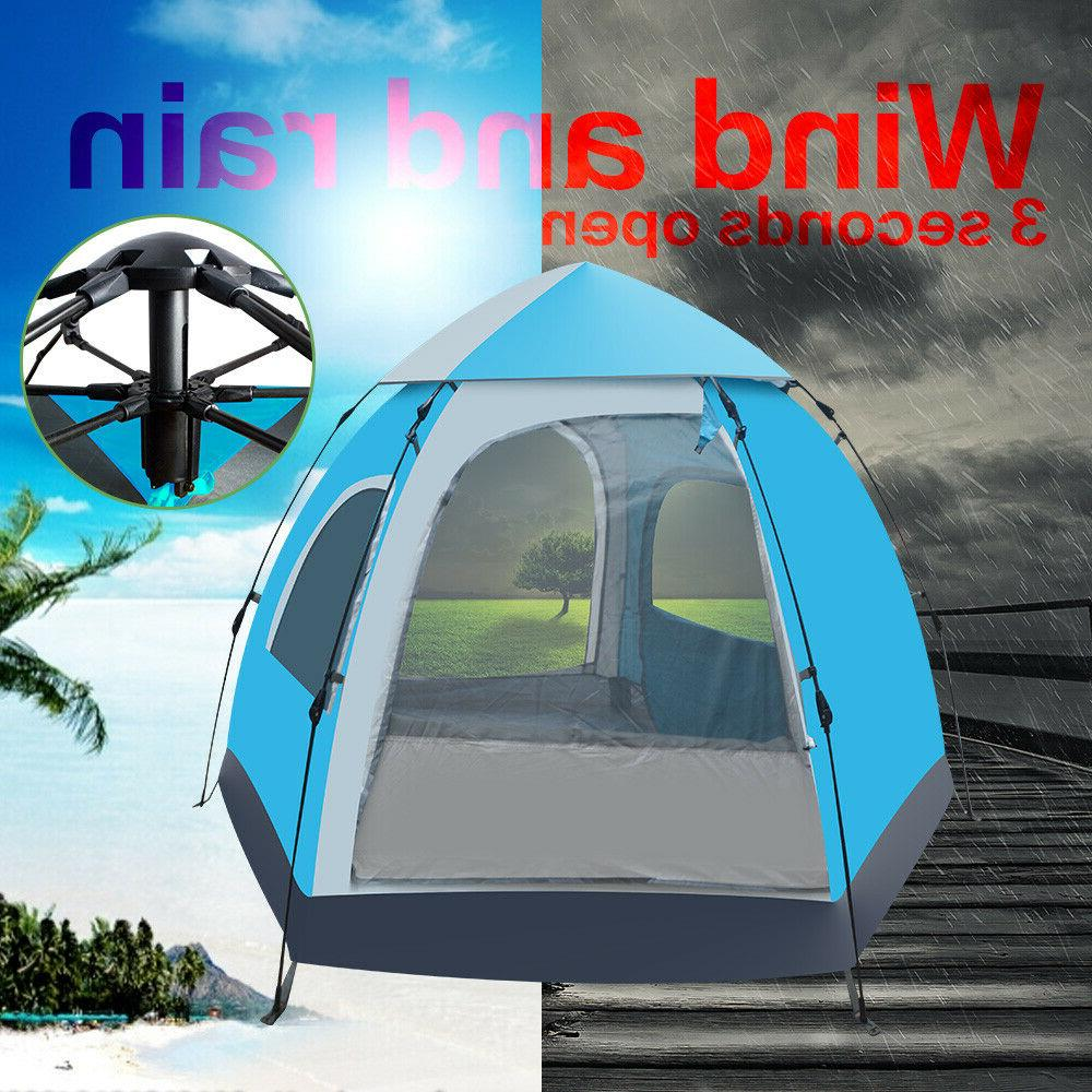 Waterproof Automatic 5-6 People Outdoor Instant Camping Hiking