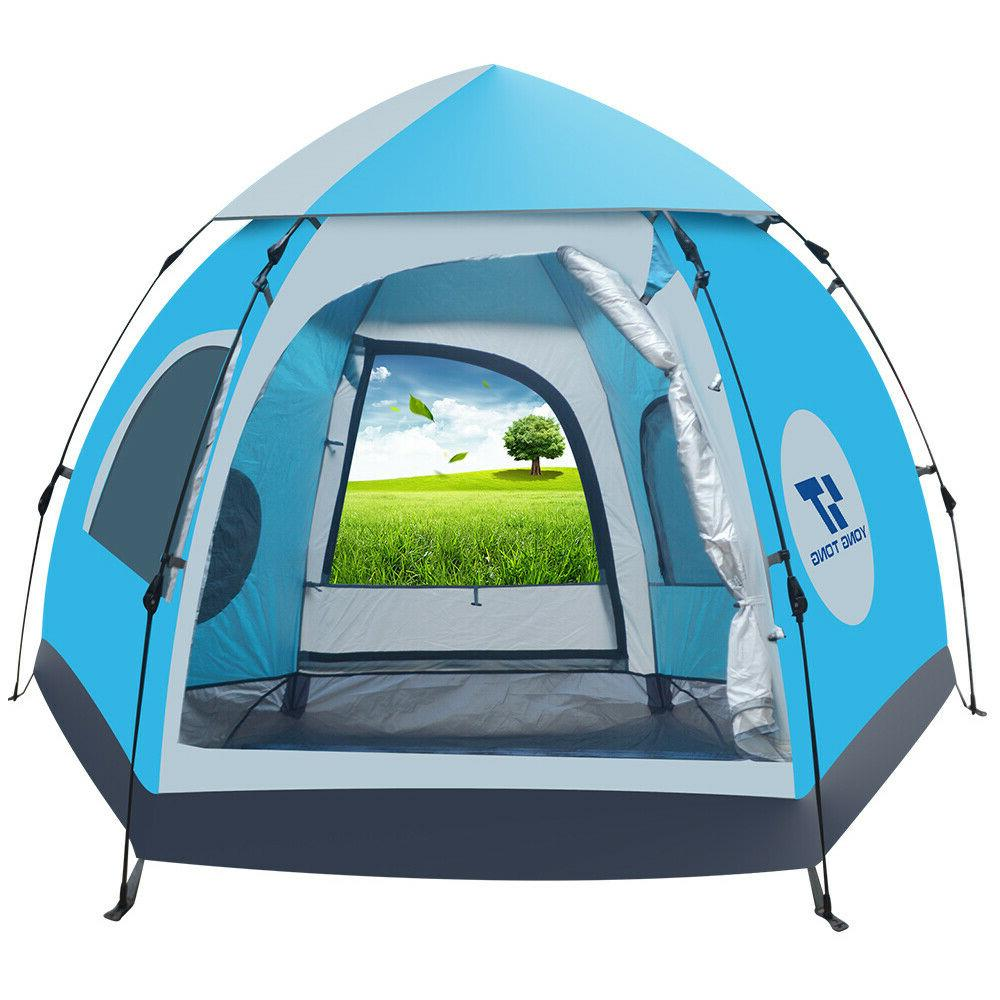 5-6 Camping Tent Waterproof Automatic Outdoor Instant