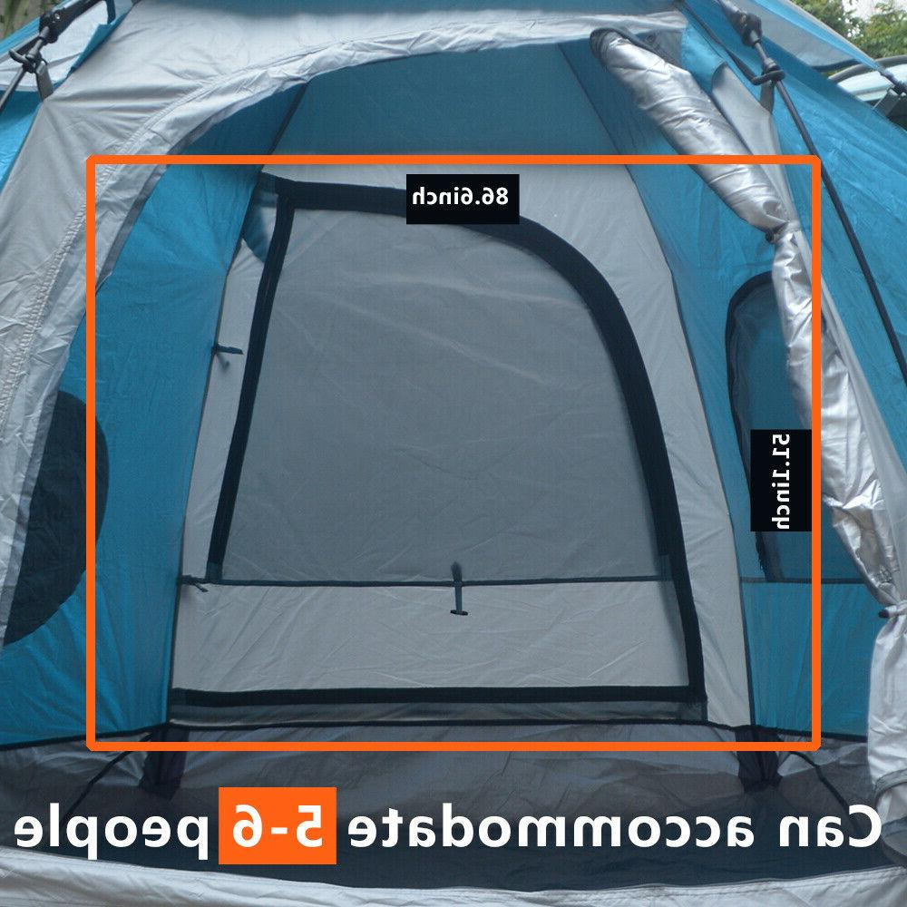 5-6 People Tent Instant Up Tent