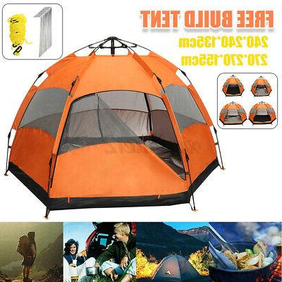 Waterproof Automatic Outdoor Popup Camping Hiking