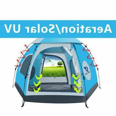 Waterproof 5-6 People Outdoor Instant Camping