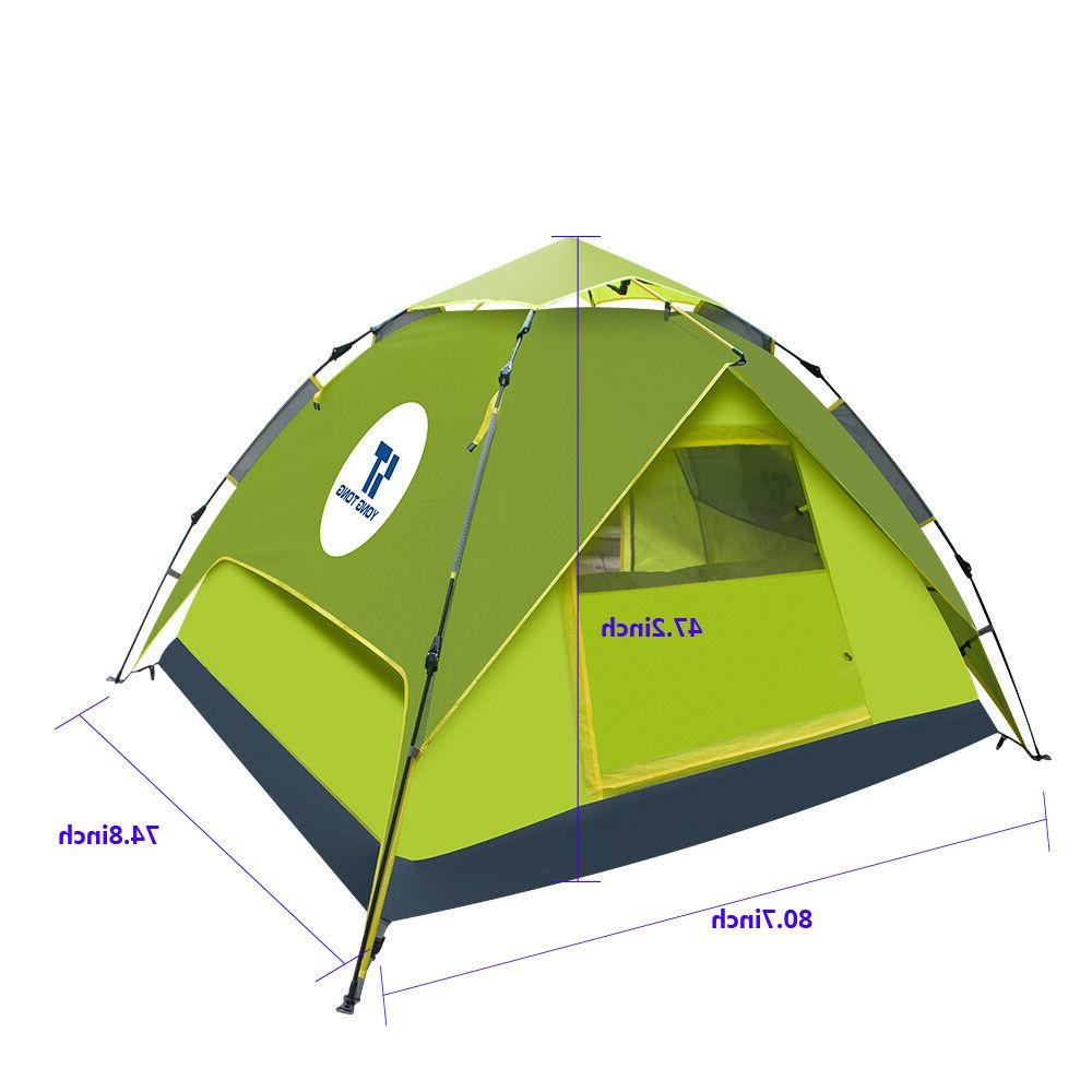 waterproof automatic instant pop up camping hiking