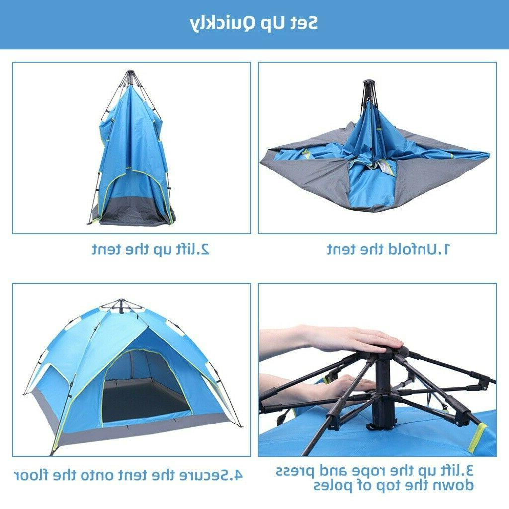 Waterproof 4 Person Up Tent Tent
