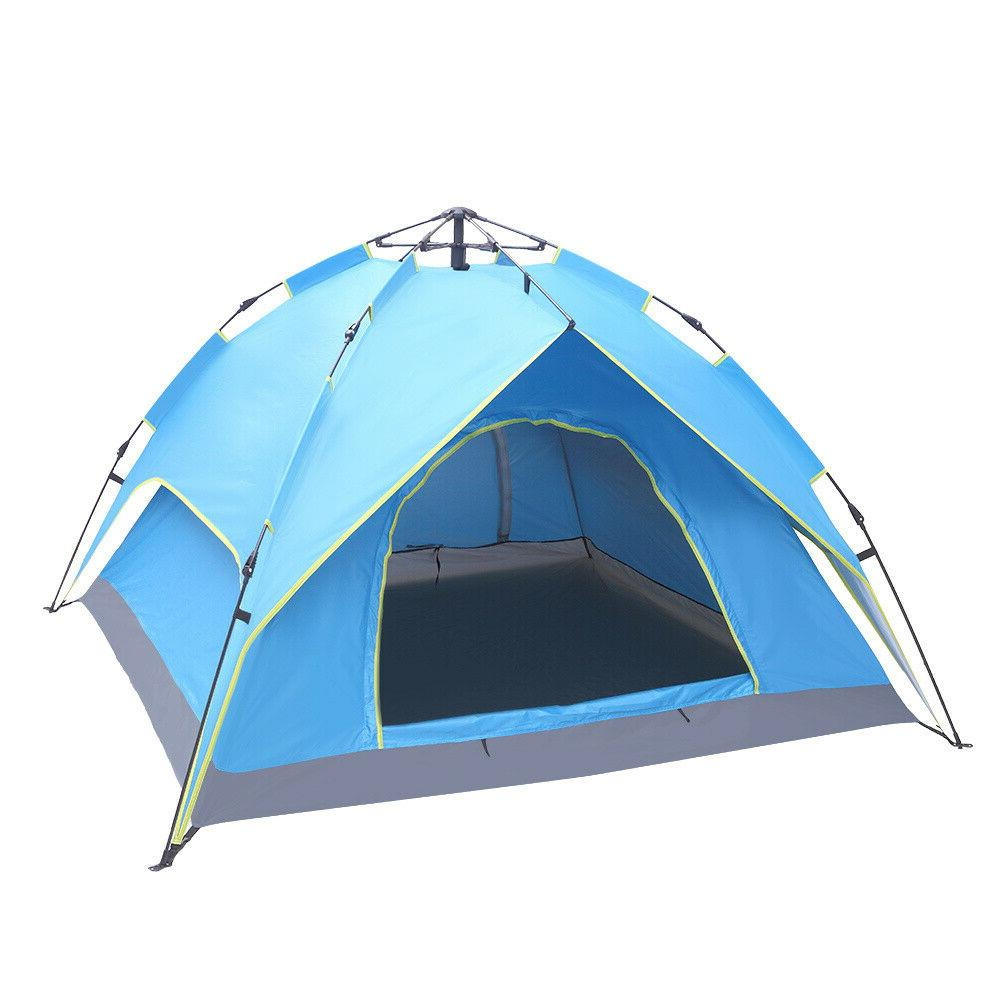 Waterproof Tent 4 Person Setup Up Tent Tent