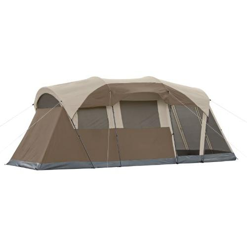 Coleman Screened Tent Hinged Door