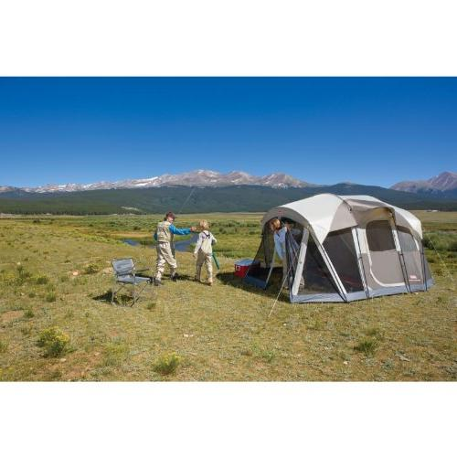 Coleman Screened 6 Tent with Door