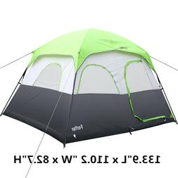 Large Outdoor Camping 3 Season Tent 3-5 Persons Waterproof T